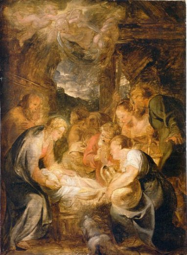 peter paul rubens adoration of the shepherds ii paintings