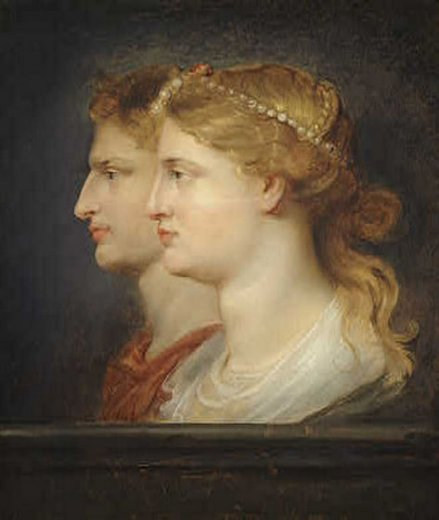 peter paul rubens agrippina and germanicus paintings