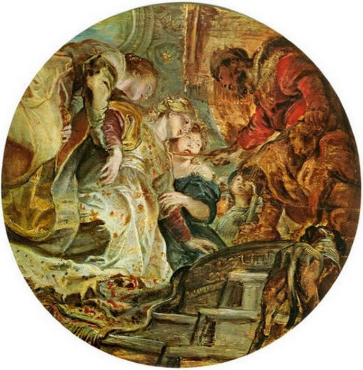 peter paul rubens esther and ahasverus paintings