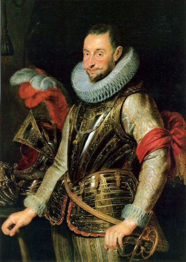 peter paul rubens portrait of ambrogio spinola painting