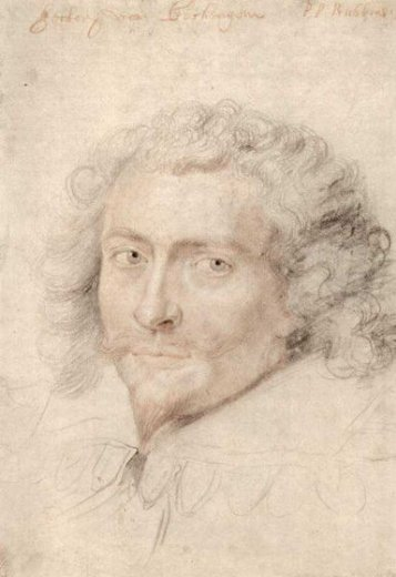 peter paul rubens portrait of george vilie painting
