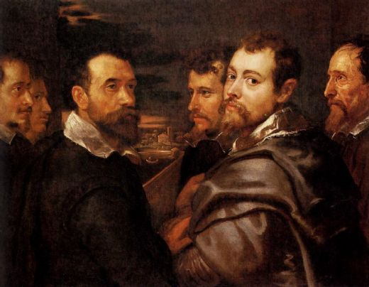 peter paul rubens the mantuan circle of friends painting