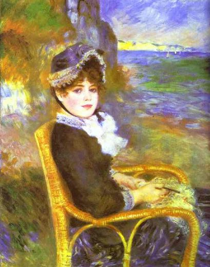 pierre auguste renoir by the seashore paintings