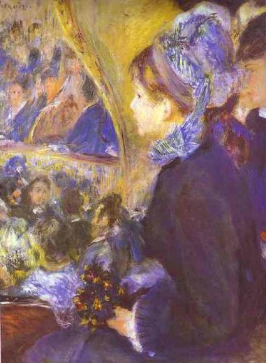 pierre auguste renoir the first outing painting