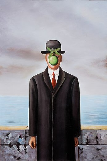 rene magritte son of man painting