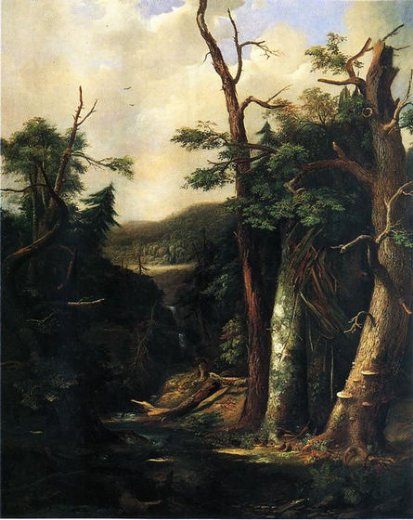 robert scott duncanson western forest painting