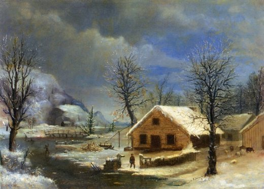 robert scott duncanson winter paintings