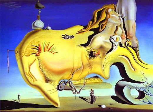 salvador dali the great masturbator painting