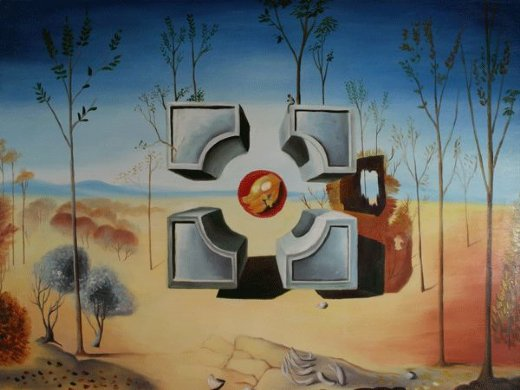 salvador dali untitled 1948 painting