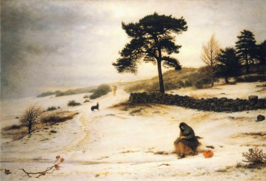 sir john everett millais blow blow thou winter wind paintings