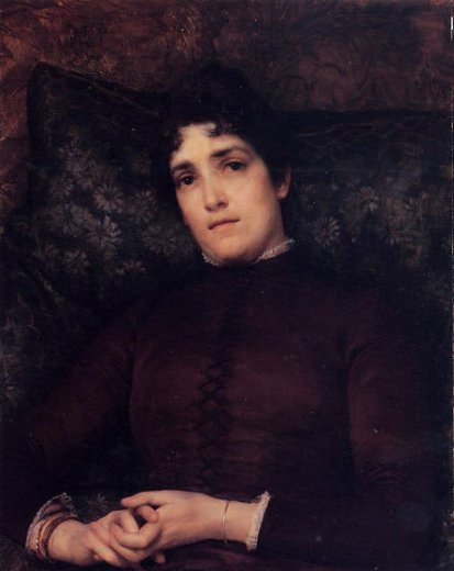 sir lawrence alma tadema mrs. frank d. millet painting
