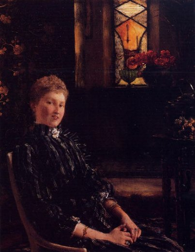 sir lawrence alma tadema mrs. ralph sneyd painting