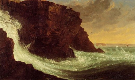 thomas cole frenchman s bay mt. desert island painting