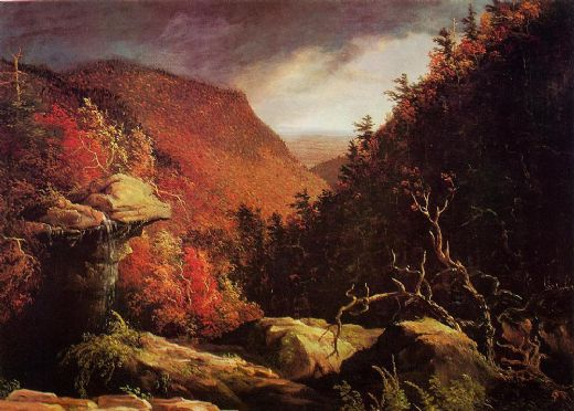 thomas cole the clove catskills i oil painting