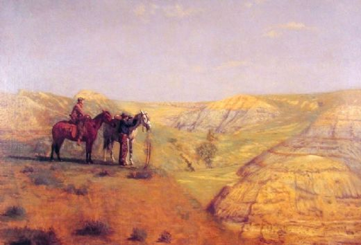 thomas eakins cowboys in the badlands posters