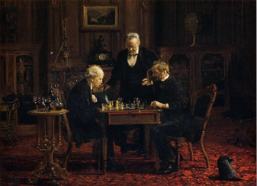 thomas eakins the chess player painting