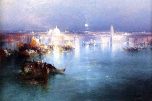thomas moran venice from san giorgio paintings