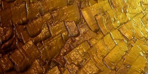 unknown artist abstract gold art 1 paintings
