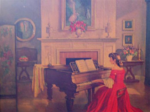 unknown artist m ditlef sonata painting