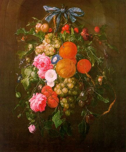 unknown artist still life with flowers painting