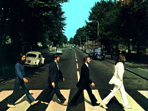 unknown artist the beatles @ abbey road paintings