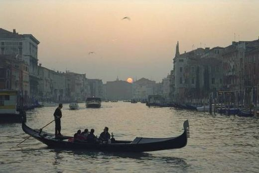 unknown artist venice sunset paintings