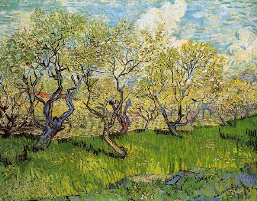 vincent van gogh orchard in blossom vi paintings