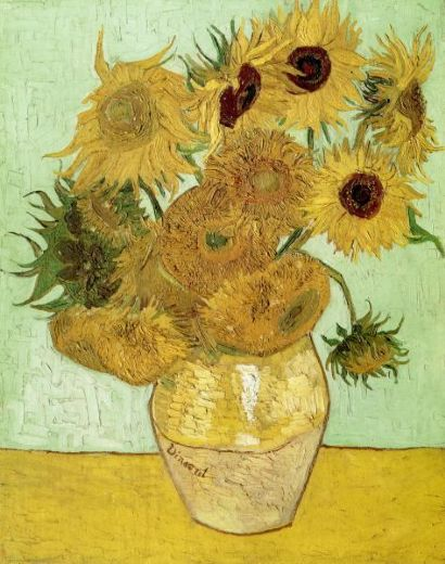 vincent van gogh sunflowers painting