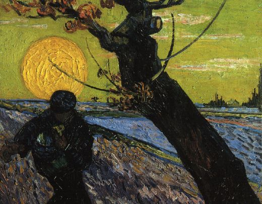 vincent van gogh the sower paintings