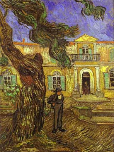 vincent van gogh tree and man prints
