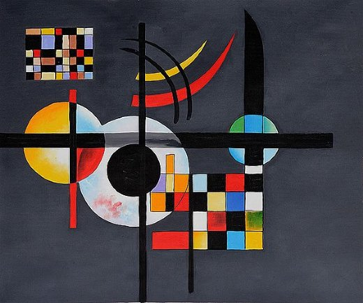 wassily kandinsky gravitation paintings