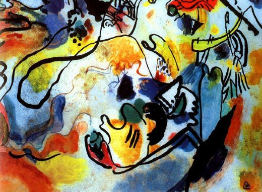 wassily kandinsky last judgement paintings