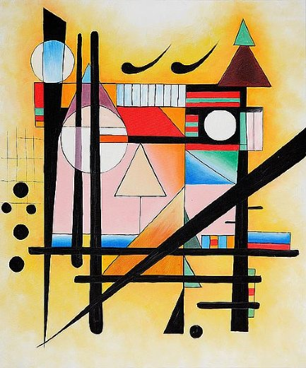 wassily kandinsky untitled painting