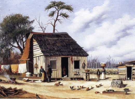 william aiken walker board and batten northern south carolina cabin paintings