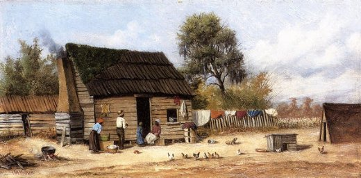 william aiken walker cabin in the south painting