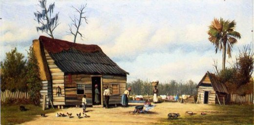 william aiken walker cabin scene iii painting