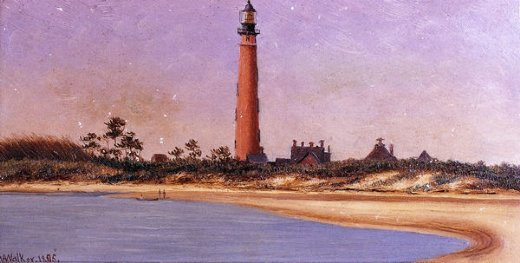 william aiken walker ponce park lighthouse florida painting