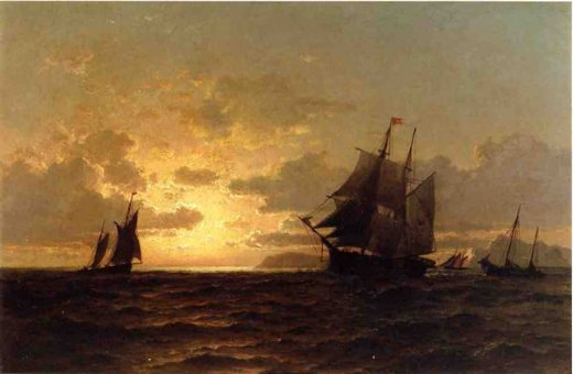 william bradford return of the whales paintings