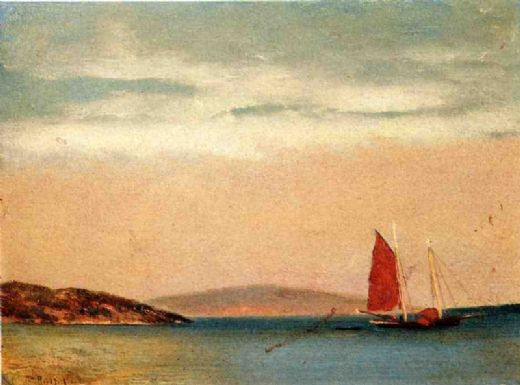 william bradford seascape painting