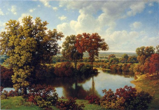 william mason brown autumn reflections ii paintings