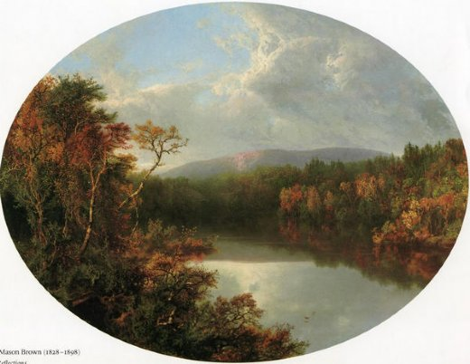william mason brown autumn reflections paintings