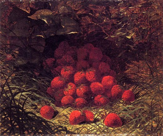 william mason brown strawberries paintings