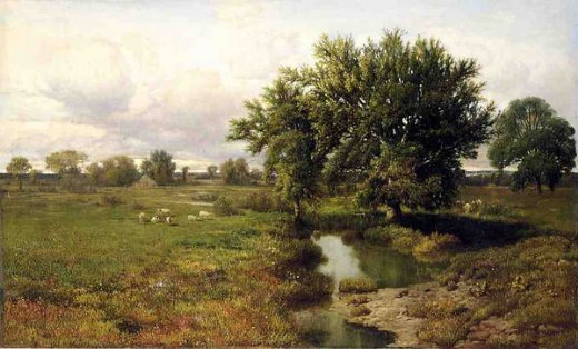 william mason brown summer pastures prints