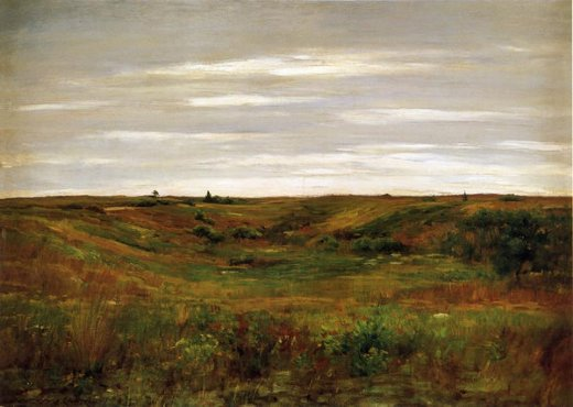 william merritt chase landscape a shinnecock vale painting