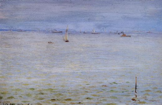 william merritt chase seascape painting