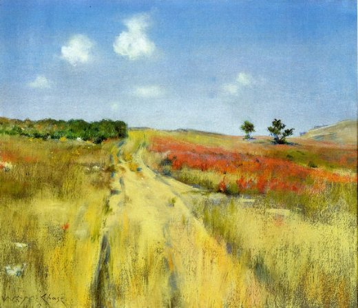 william merritt chase shinnecock hills 2 painting