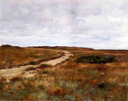 william merritt chase shinnecock hills 5 paintings