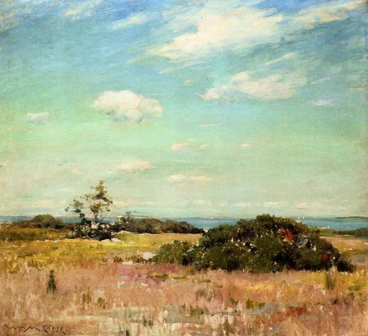 william merritt chase shinnecock hills long island paintings