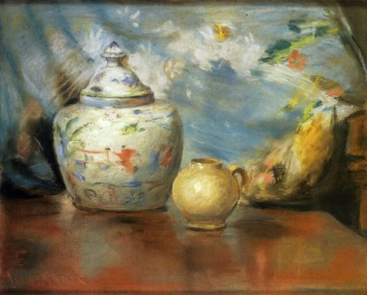 william merritt chase still life with flowers paintings