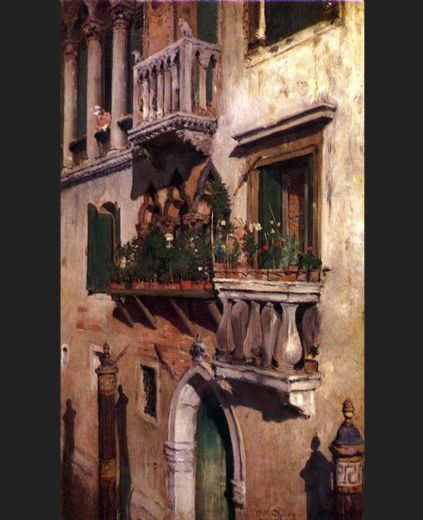 william merritt chase venice painting